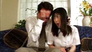 Une maman japonaise et son fils